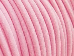 elastisch draad/stiek 3 mm licht roze