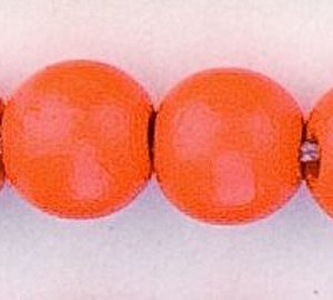 rond orange 8 mm