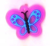 Add-ies vlinder roze