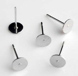 oorsteker zilver 8 mm
