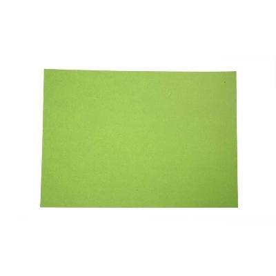 Gekleurd papier 21x30 cm groen