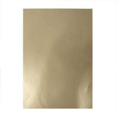 Glanspapier 32x48 cm goud