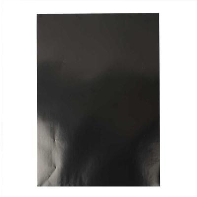 Glanspapier 32x48 cm zwart
