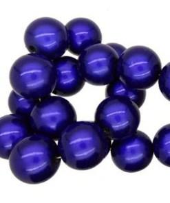 3D Miracle beads 8mm Blauw kobalt
