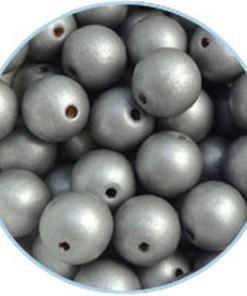 Houten Kralen Zilver 16mm