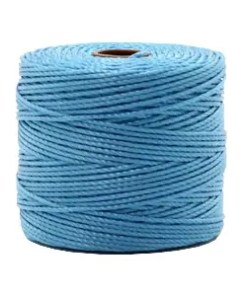 Nylon S-Lon rijgdraad 0.6mm Caroline blue