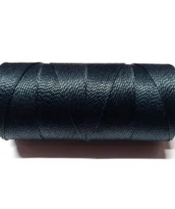 Braziliaans polyester waxkoord Navy blue 1mm