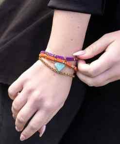 Regalite Kralen (14 x 4 mm) armband