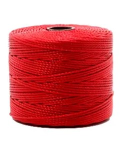 Nylon S-Lon rijgdraad 0.6mm Shanghai Red