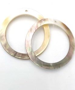Schelp hanger ring 40mm
