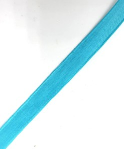 Polyester band 10mm blauw turquoise groen
