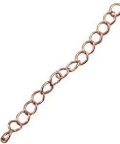 DQ verlengketting DQ rose gold plated duurzame plating