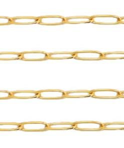 Dé trend van dit moment, sieraden van Roestvrij stalen (RVS) Stainless steel onderdelen jasseron schakel.