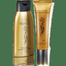 Sada s extraktem ženšenu - šampón + balzám