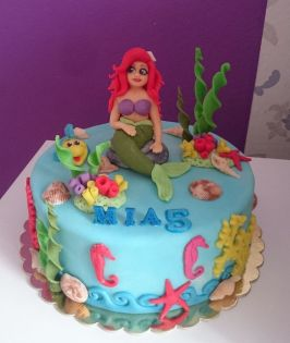 Holčičí dort Ariel