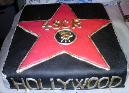 Hollywoodský speciální dort