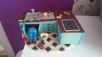 Instalatérský dort