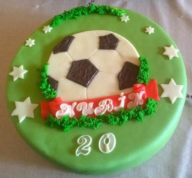 S tímhle narozeninovým dortem určitě dáte gól