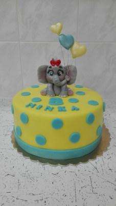 Dort sloník s balonky