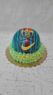 Dort fotbalový míč v trávě