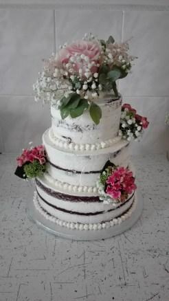 Svatební s živými květy