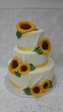 Svatební se slunečnicemi
