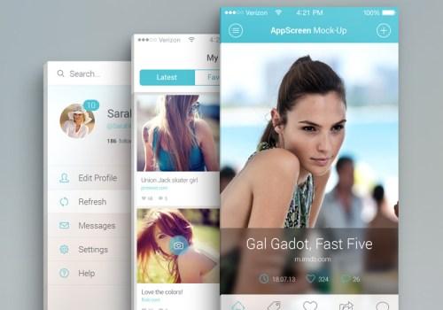 Fashion App Design