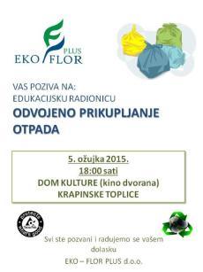 Plakat Krapinske toplice 05-03-2015