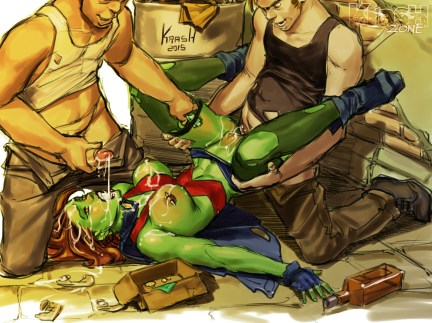 Krashed Miss Martian