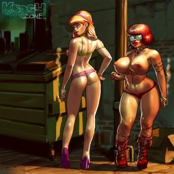 Daphne & Velma: Streetwalkers! (Back)
