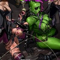 She-Hulk & Catwoman