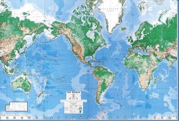 карта мира 2