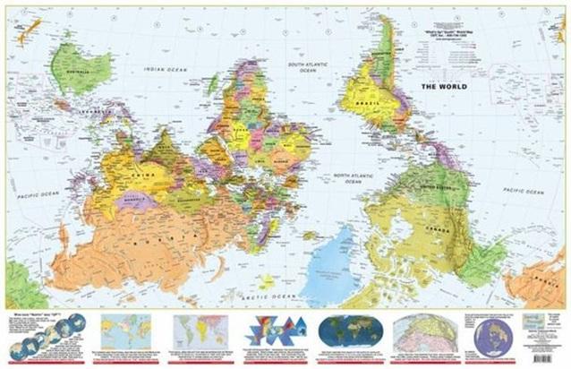 карта мира 5