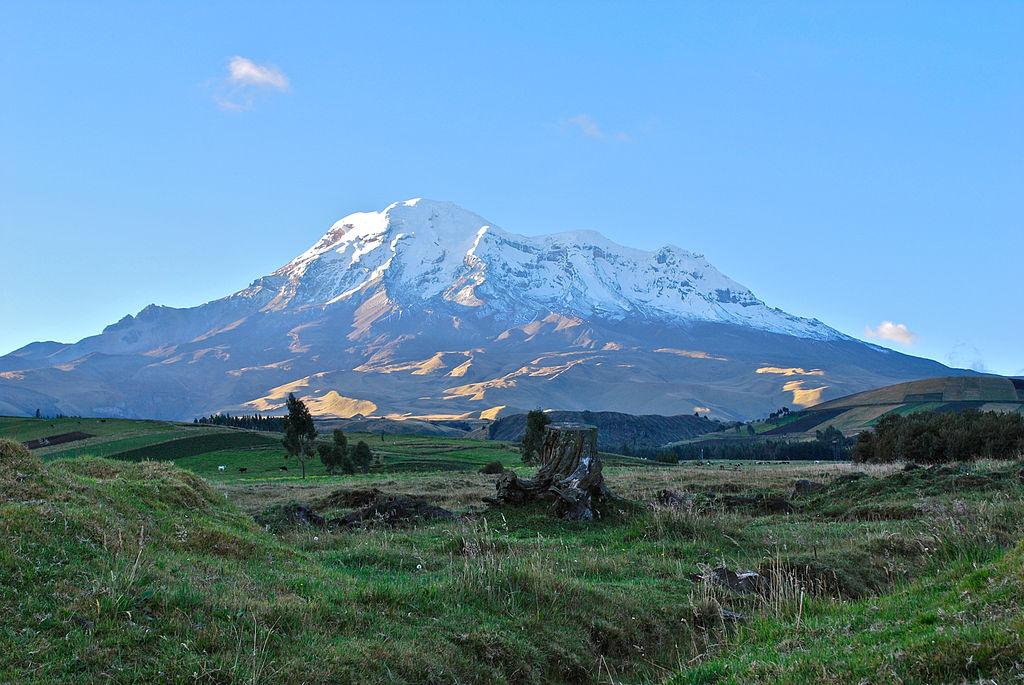 Гора Чимборасо