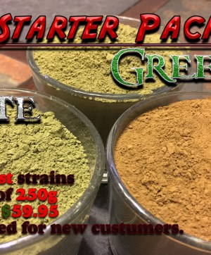Starter Pack - 3 Strains, 250 grams