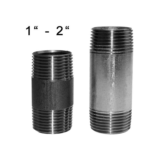 Rohrdoppelnippel Nr. 23 aus Stahl