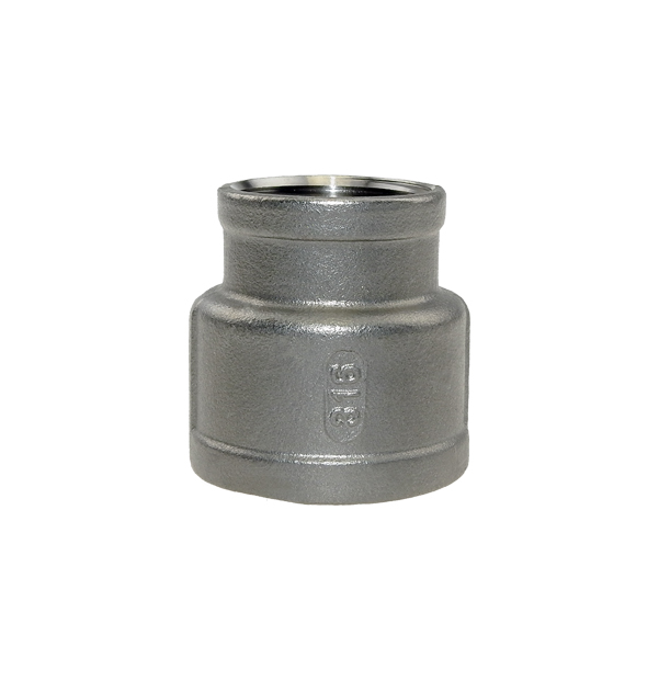 Socket reduced made of stainless steel
