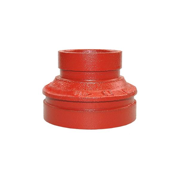 Nut-Reduzierstück konzentrisch Nr. 240 rot