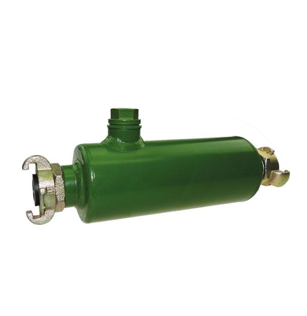 Druckluft-Schlauchöler mit Kupplungen