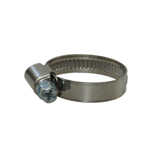 Schlauchschelle 9 mm Bandbreite DIN 3017 W2
