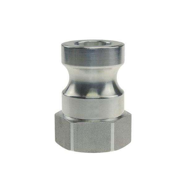 Vaterteil mit Innengewinde aus Aluminium