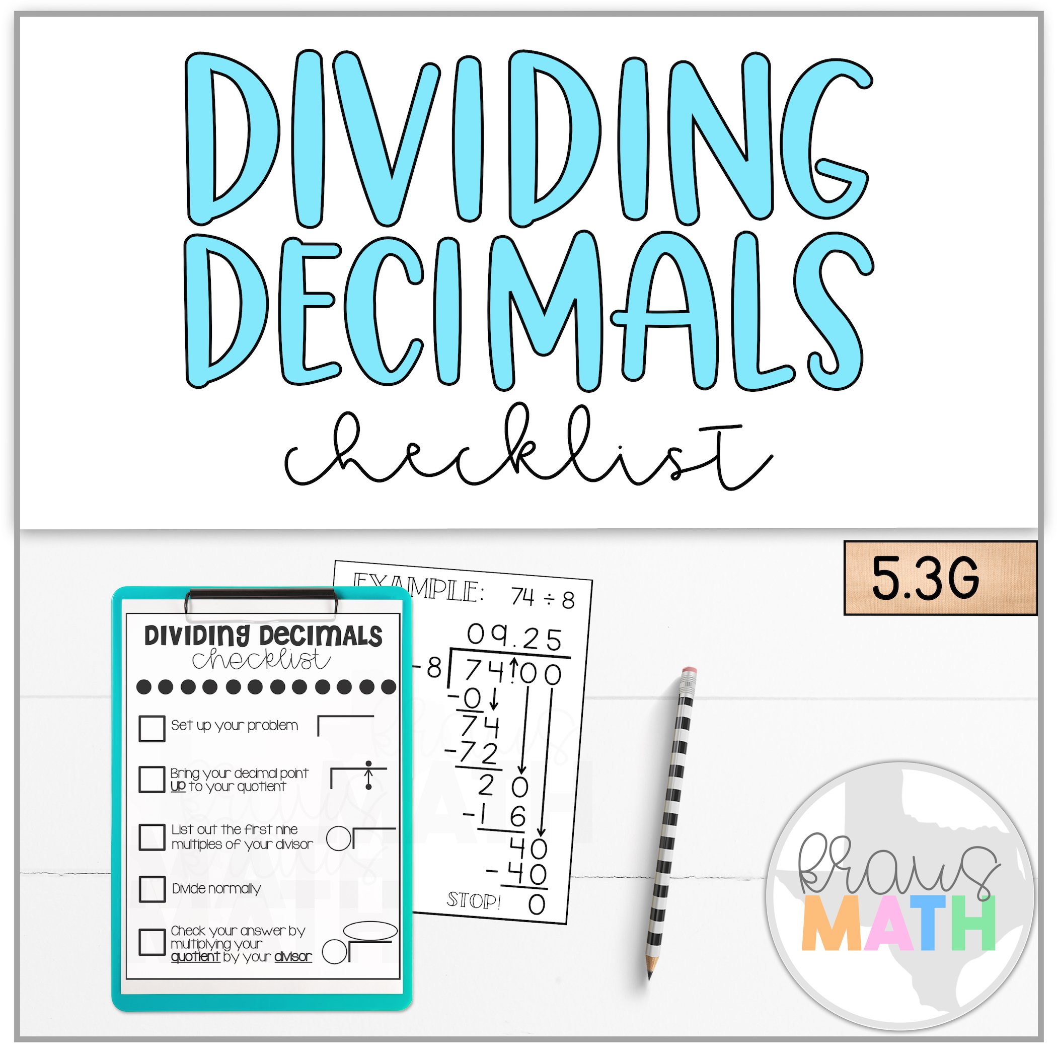 How To Divide Decimals Step By Step