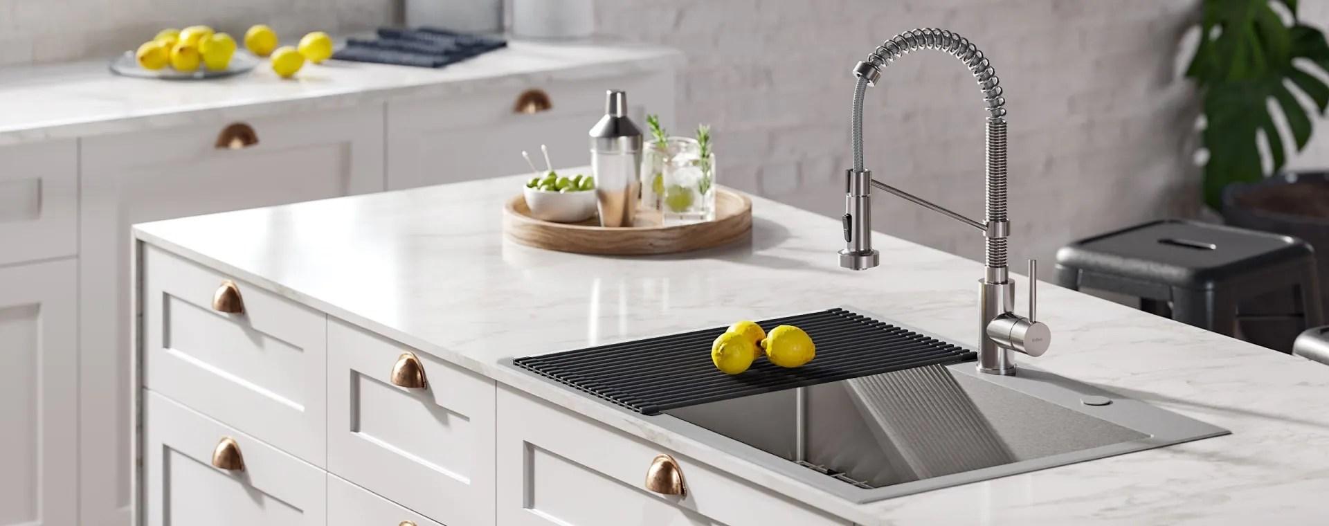 kraus kitchen all in one sink