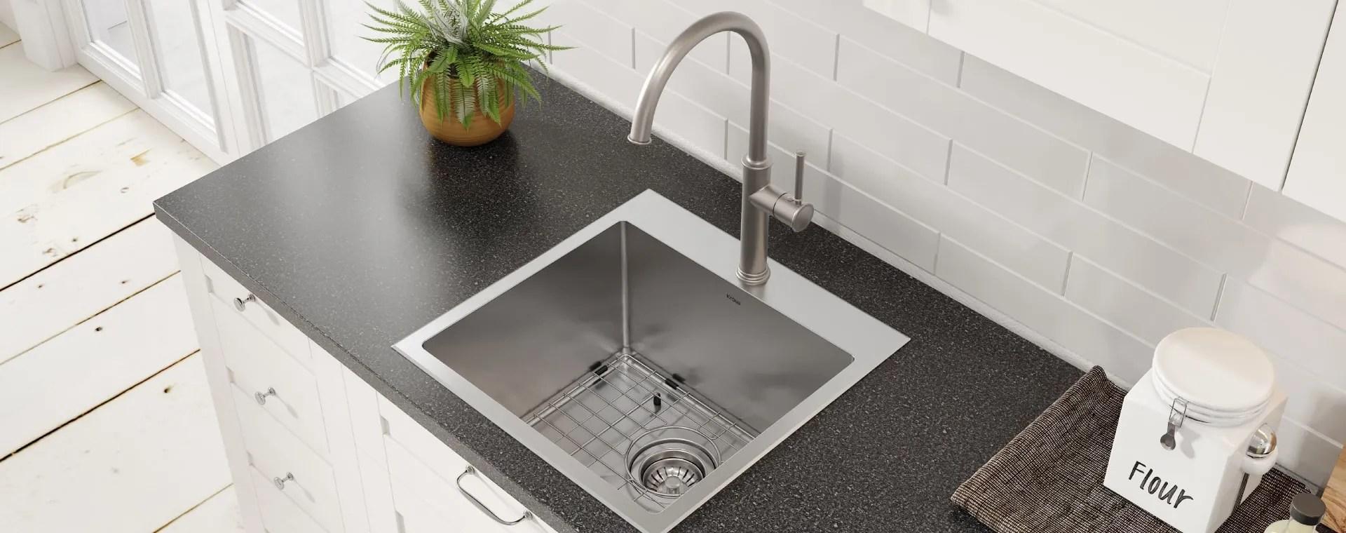 kraus usa bar faucets kitchens