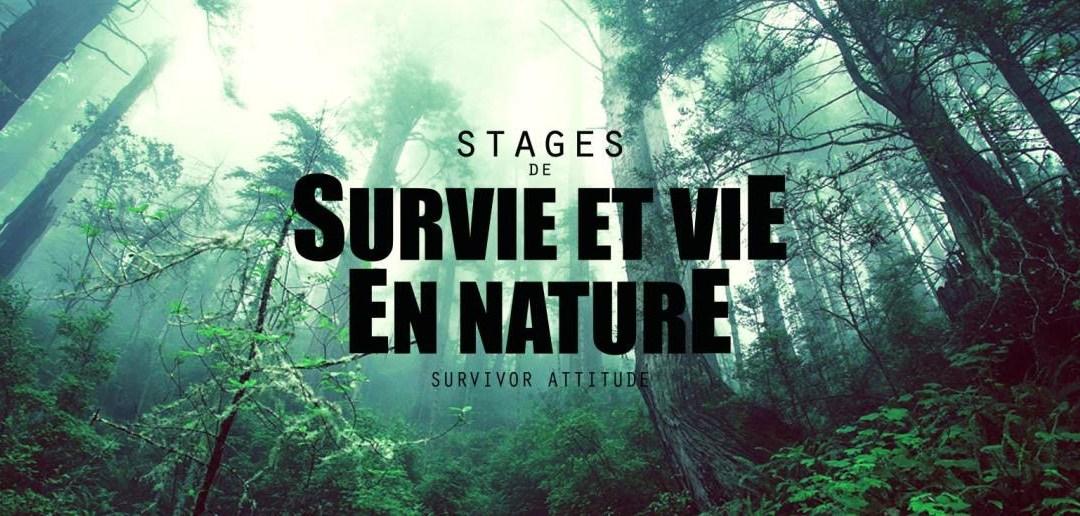Vie et Survie en nature. Stage pour les ados et kids le 11 & 12 septembre 2021