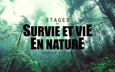 Survie et Vie en nature. Stage pour les enfants 26 & 27 septembre 2020