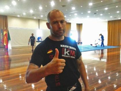 Instructor de Krav Maga León