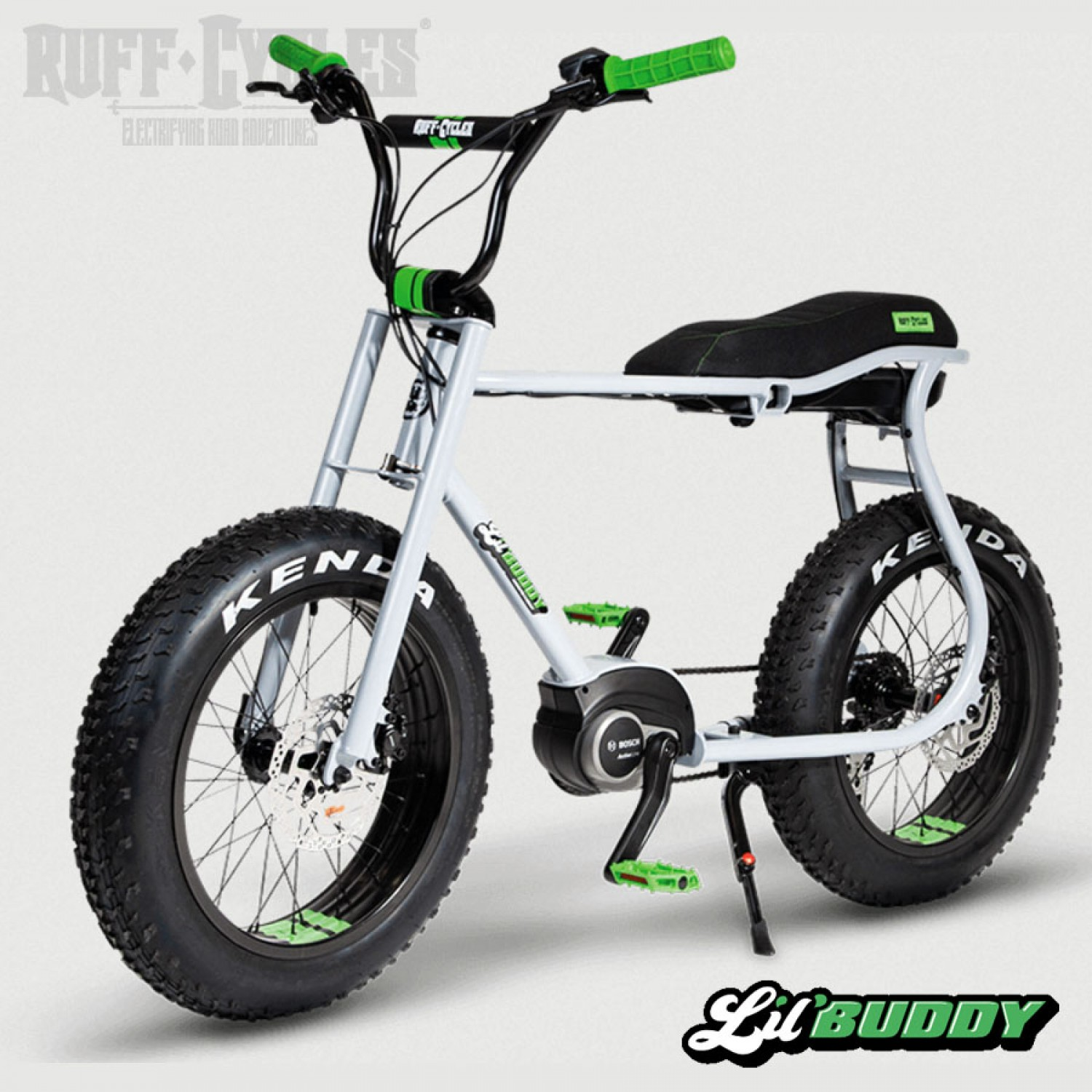 velo electrique ruff cycles lil buddy grey
