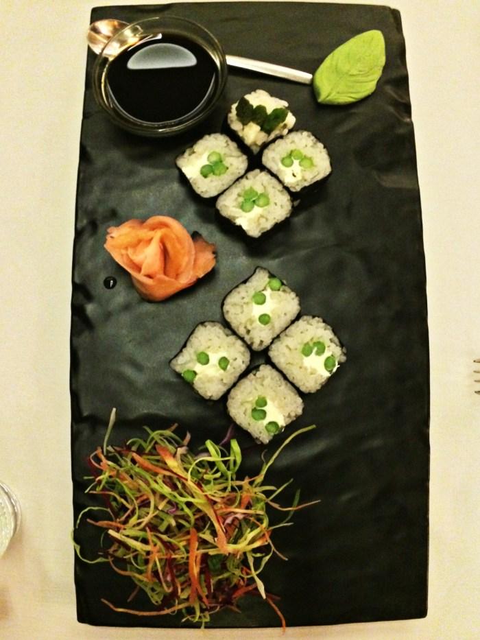 Ni Hao Asparagus & Cream Cheese Sushi