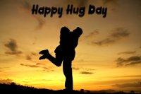 hug day couple images